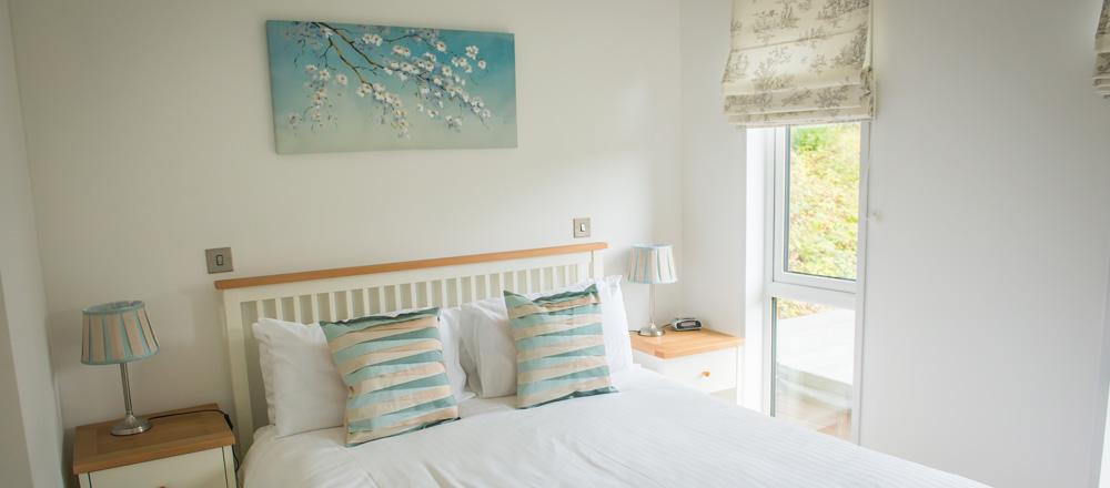 Drake lodge master bedroom