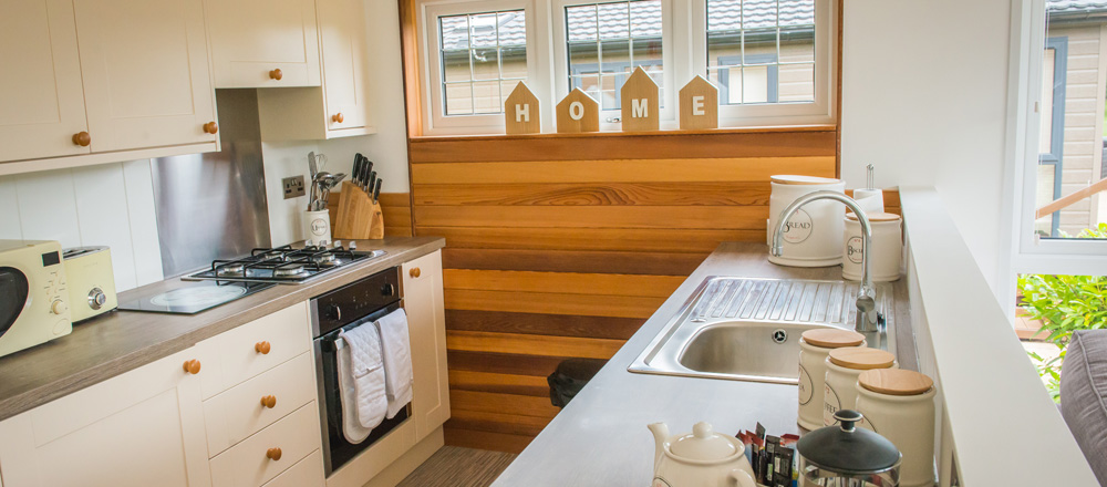 Drake lodge kitchen