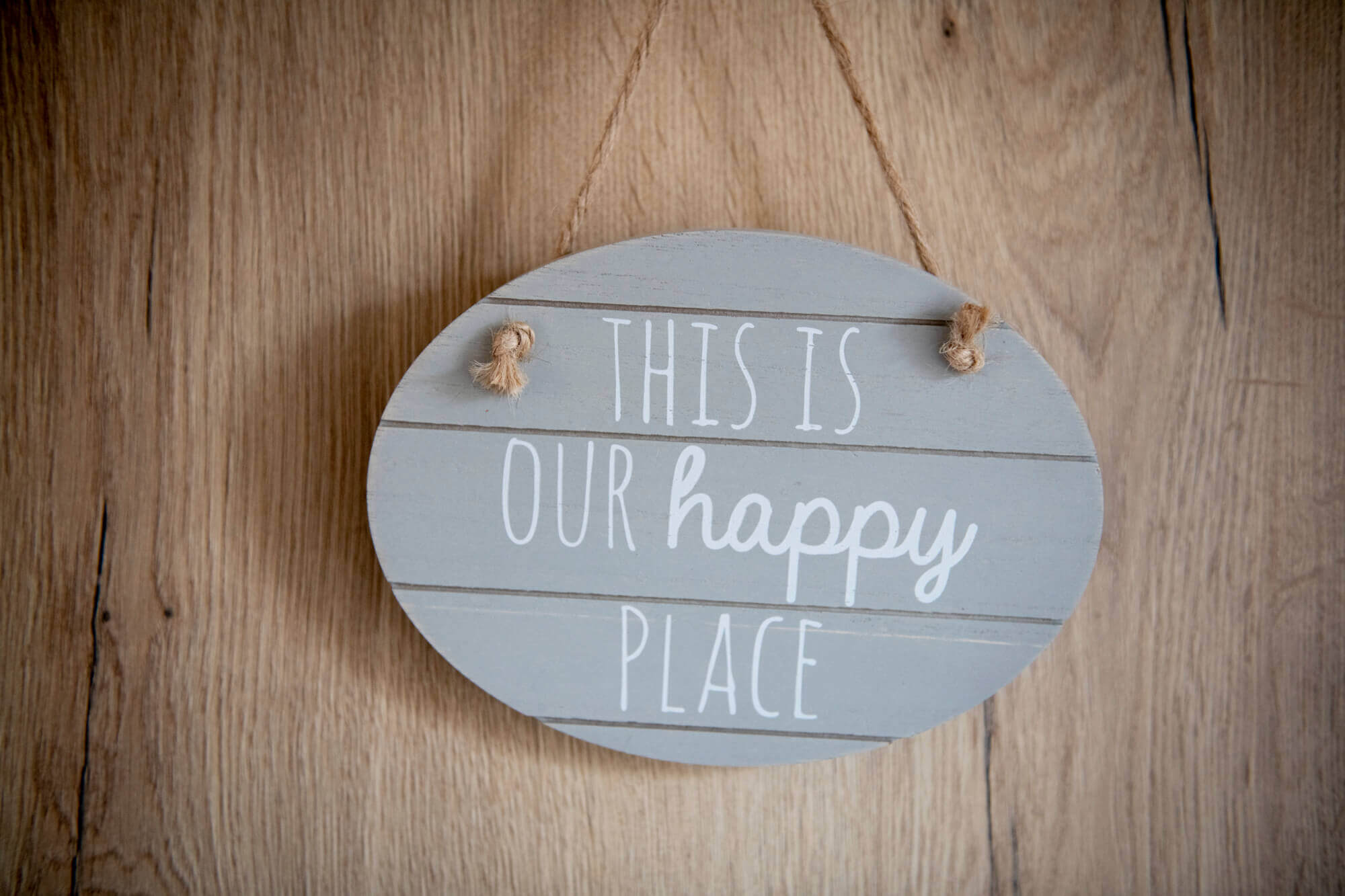 this is our happy place plaque