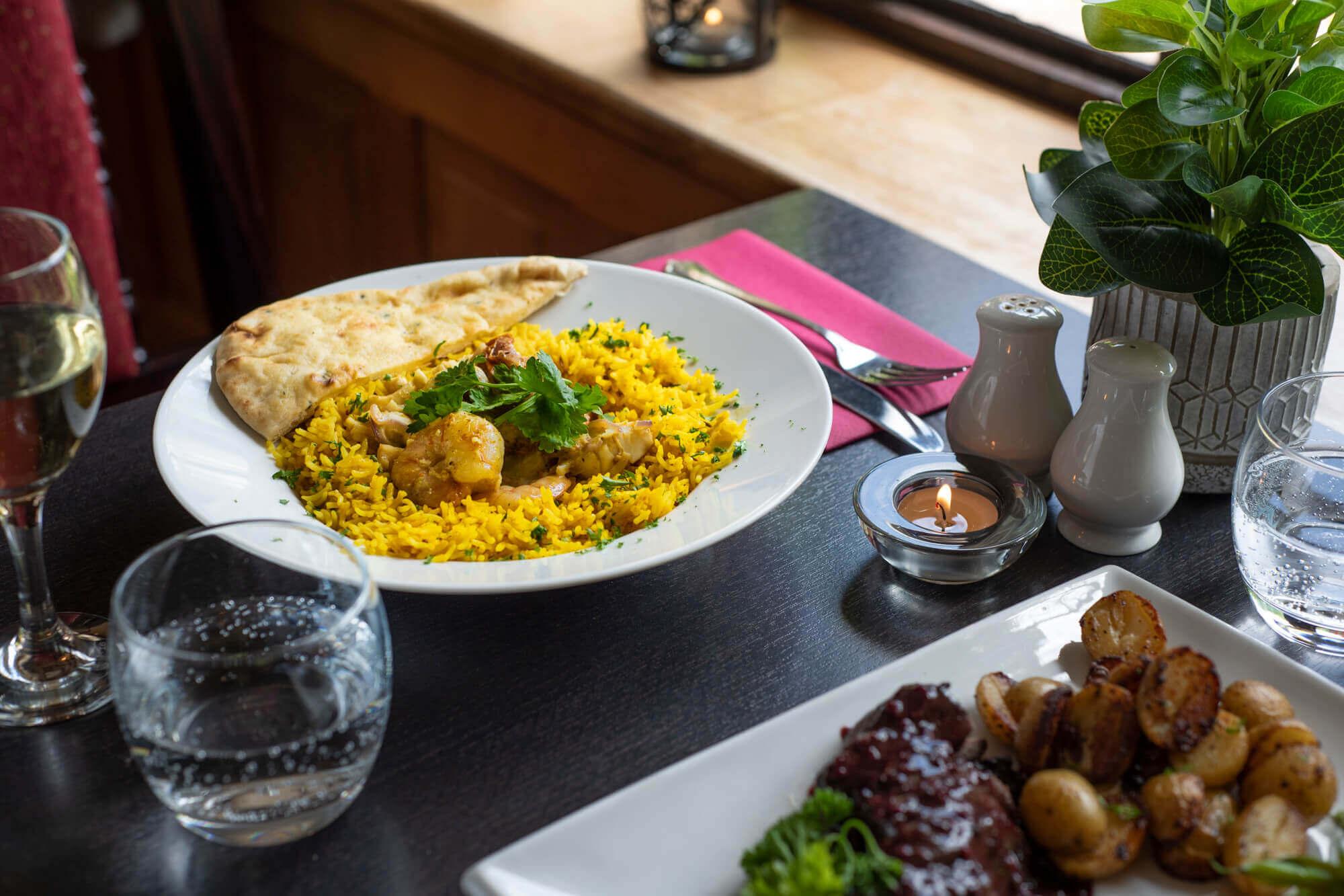 Brixham Monkfish & King Prawn Curry