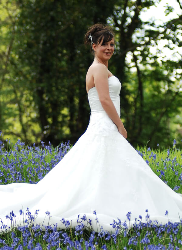 One of our beautiful brides