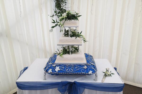 The wedding cake