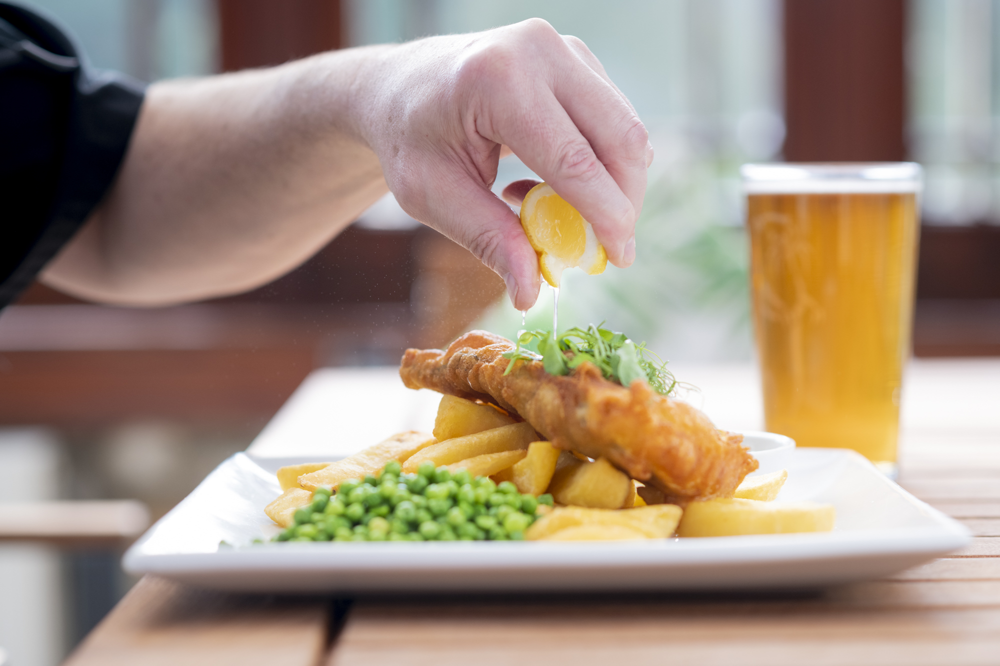 A squeeze of fresh lemon on your fish and chips?