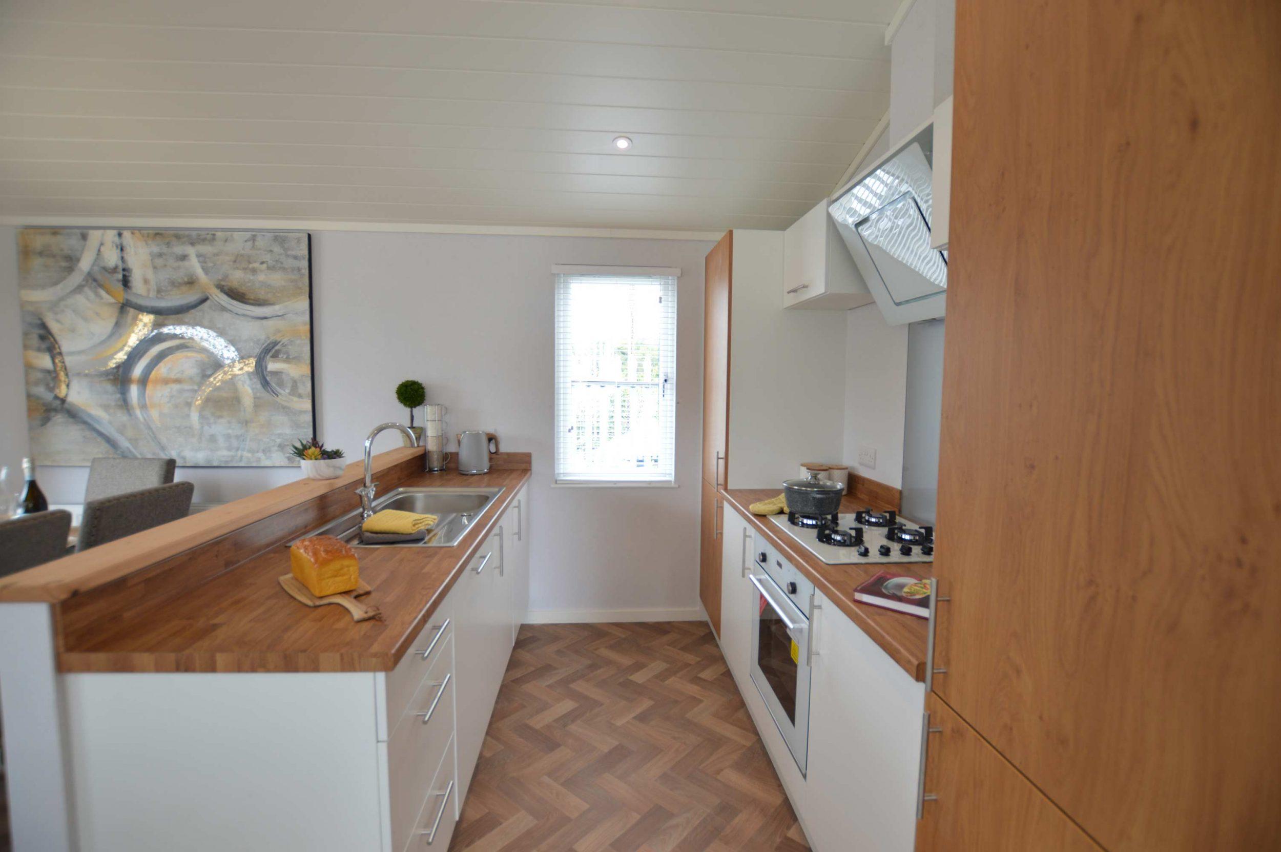 The Oslo Lodge - Kitchen