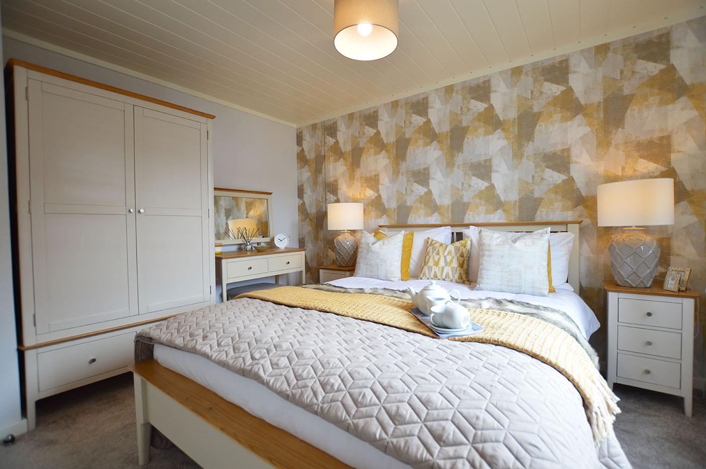 The Oslo Lodge - Master Bedroom