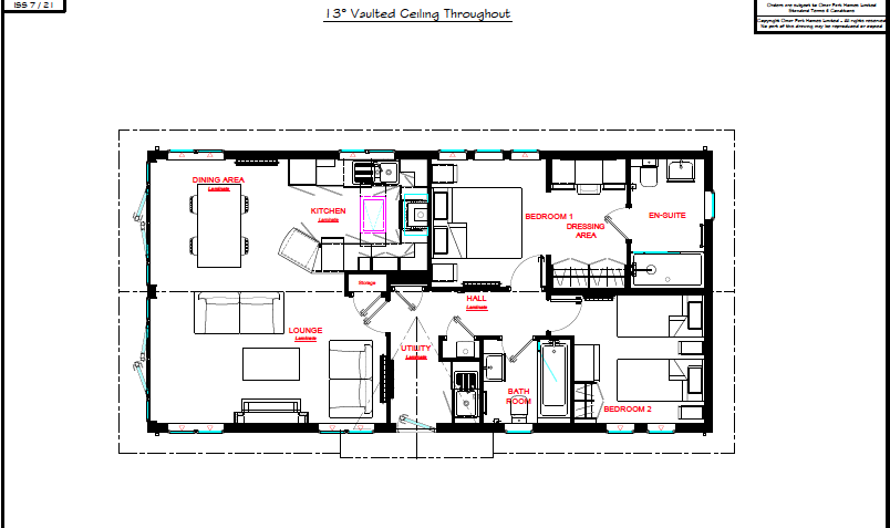 Omar Kingfisher Lodge - Floor Plan