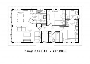 Kingfisher lodge floor plan