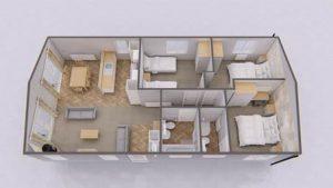 Oslo Lodge Floor plan
